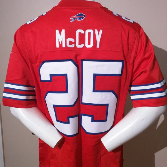 cheap for discount dc131 a53fc LESEAN McCOY 25 BUFFALO BILLS Jersey NWT